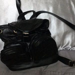 Handbags - Leather mini backpack